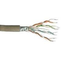 Kabel 100MHz, CAT5E, FTP(F/UTP), Verlege, PVC, 100m Ring,