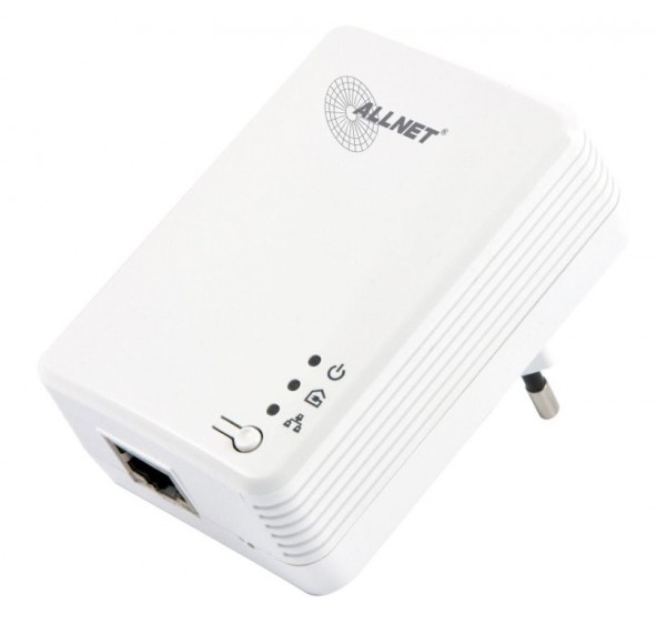 "ALLNET ALL168610 / 600Mbit HomePlugAV2 Adapter ""Smart-LINK"""