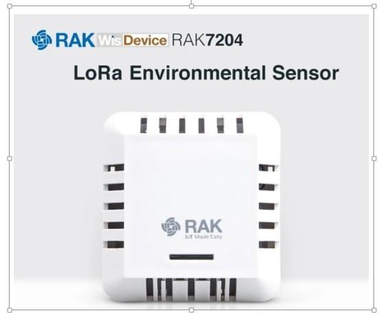 LoRa RAK Wireless LoRAWAN Enviromental Sensor Indoor - Temperatur - Luftfeuchtigkeit - Luftdruck RAK7204