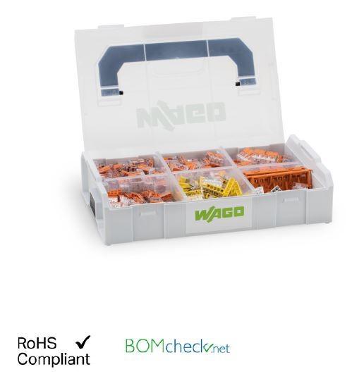 Wago Verbindungsklemmen Set L-BOXX® Mini; Sortiment Serien 221, 2273