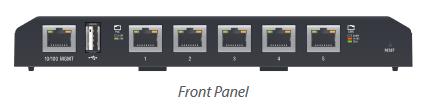 Ubiquiti Edgeswitch PRO, 5x Gigabits Passiv POE ports, 24 V ES-5XP