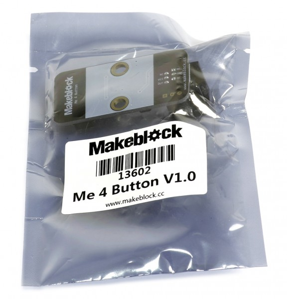 """Makeblock Sensor """"4 Button V1"""" / 4 Schaltknöpfe für MINT Roboter"""