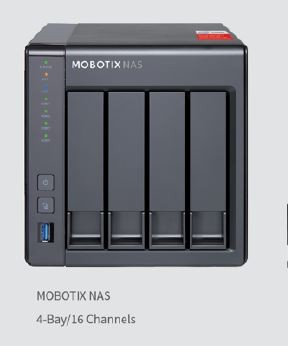 Mobotix NAS Aufzeichnungsgerät 16 Kanal Mx-S-NAS4A-16