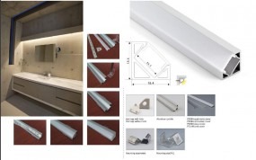 Synergy 21 LED U-Profil 200cm, ALU007-R V2