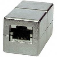 TP-TP Kupplung, CAT5E, Buchse,1:1 ,8-pol. metallisiert,