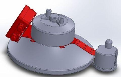 Synergy 21 LED Spot Pendelleuchte UFO zub. Radar Kit M