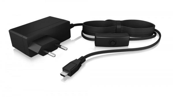 ICY Box Netzteil für Raspberry Pi® mit Schalter, IB-RPA103-PS,