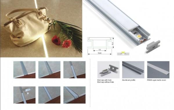 Synergy 21 LED U-Profil 200cm, ALU009