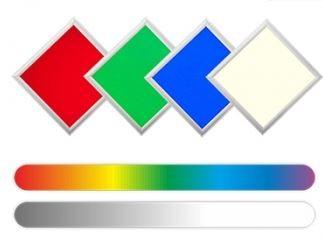 Synergy 21 LED light panel 620*620 RGB-W - Komplettset