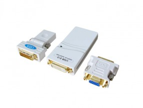 ALLNET DVI / Consumer USB 2.0 DVI/VGA/HDMI Adapter