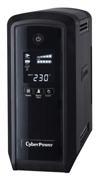 CyberPower USV, PFC-Serie, 900VA/540W, Line-Interactive, USB, reiner Sinus, 4min,
