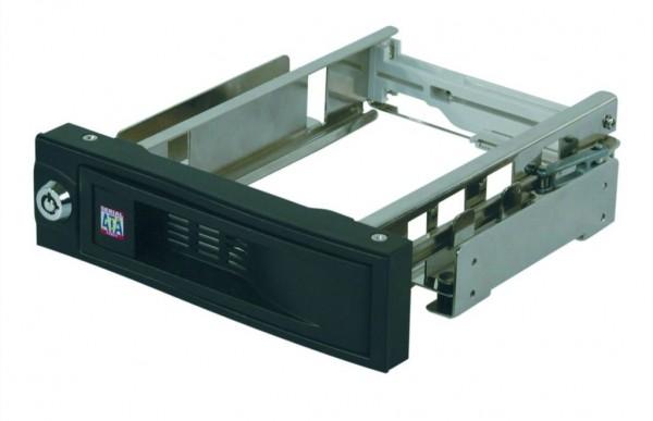ICY Box Wechselrah.SATA 1x/SATA, Black, IB-168SK-B, Kein Träger