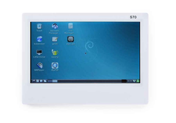 "FriendlyELEC 7"" inch resistive touch LCD(S70)"