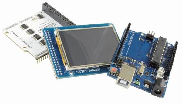 ALLNET 4duino Board Uno R3 Touch Screen Kit