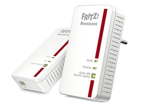 AVM Fritz!Powerline 1240E Set - (Packung mit 2)