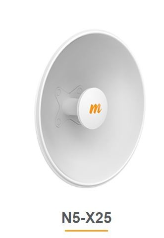 Mimosa N5-X25 - 400mm Dish Antenna for C5x, 25 dBi, 2er Pack