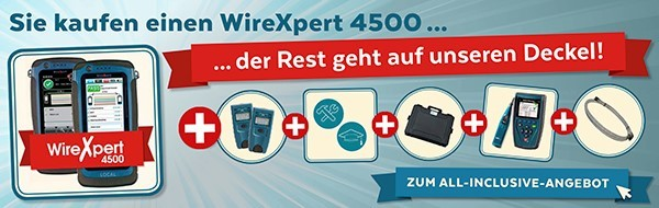 softing(Psiber) WireXpert 4500 All-Inclusive-Paket