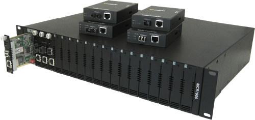 Perle Medien Konverter 1000 RJ45/SC Multimode