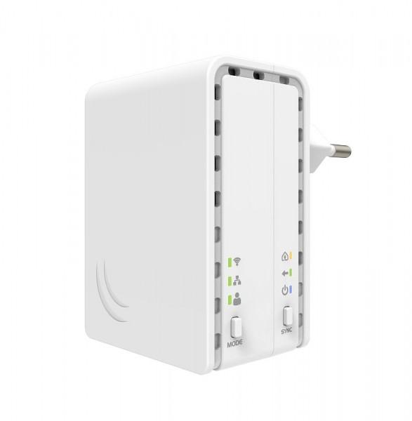 MikroTik Access Point PL7411-2nD, Powerline AP, 2.4 GHz, 1x 10/100