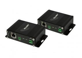 ALLNET Medien Konverter Bridge/Reciever & Transmitter Power über Zweidraht-Bundle ALL-MC301