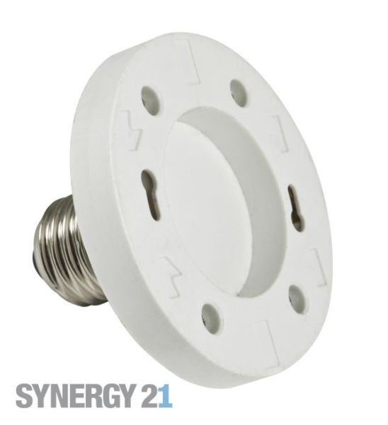 Synergy 21 LED Adapter für LED-Leuchtmittel E27->GX53