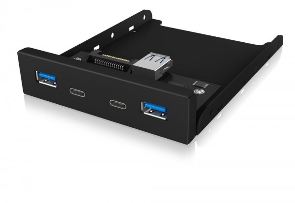 ICY Box USB 3.0 Hub, 4-port, Frontpanel-Hub, (Type C+A), IB-HUB1416-i3,