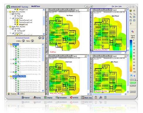 Netscout AirMagnet Survey Pro (Incl. Planner Module), Software