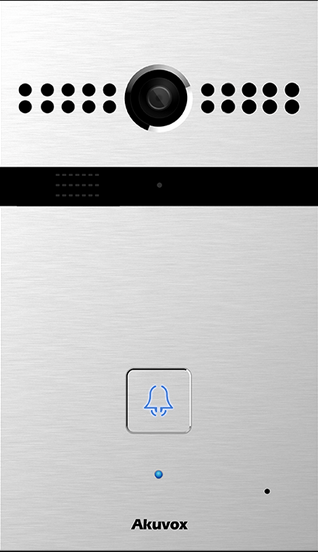 Akuvox TFE R26P IP Door SIP Intercom with one Button (Video) *Main Body with On-Wall*