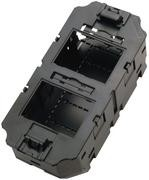 Telegärtner Dose Gerätebecher Unterflur GB2 Komplett(Tehalit