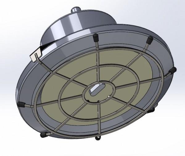 Synergy 21 LED Spot Pendelleuchte UFO zub. Ballschutzkorb S