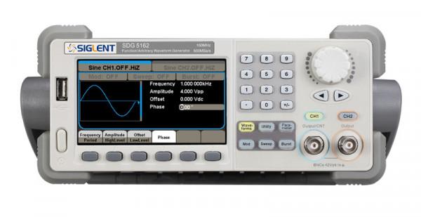 Siglent SDG5162 / 2-Kanal, 160MHz Signalgenerator, 500MSa/s