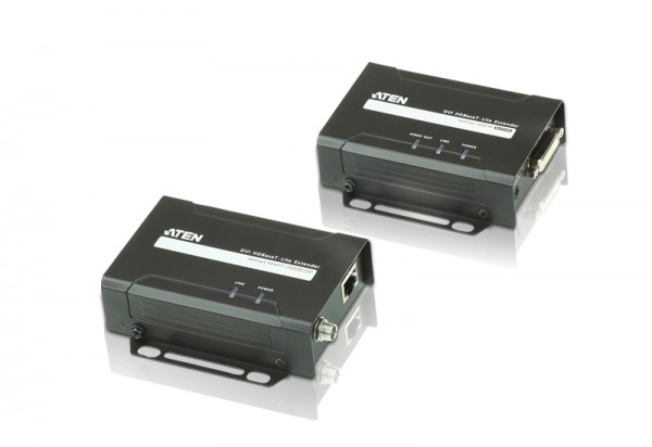 Aten Video/Audio-Extender,35/70mtr., DVI, Sender/Empfänger-Set, (1080p bei 70 m)