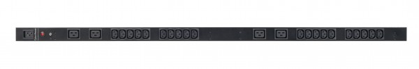 CyberPower PDU, BASIC, 230V/16A, 0HE, 20xC13+4xC19Ausgang, 1xC20 Eingang,