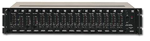 PATTON 1000R16P/48V 2U RACK ASSMBLY W/48V PS (48 Volt Vers.)