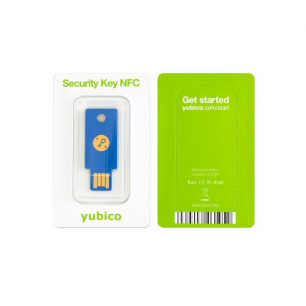 Yubico Security Key NFC - U2F und FIDO2 in Retailverpackung