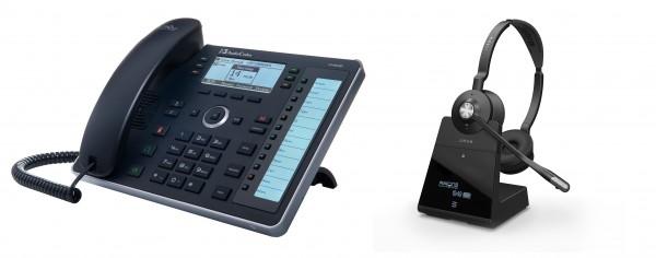 Audiocodes - Jabra Bundle, UC440HDEG & Engage 75 Stereo