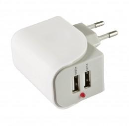 Flepo Netzteil USB 2-fach 100V/240V-2A