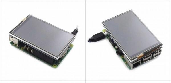 """Raspberry Pi Zubehör - Display 3,5"""" Touch 320x480 Pixel"""