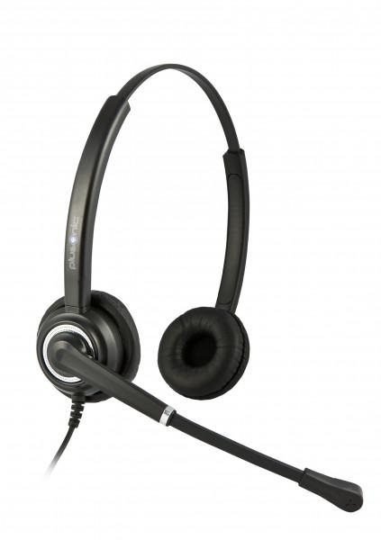 Plusonic Headset 7.2P, Binaural, NC, Wideband