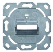 Telegärtner Modulträger, UP-Dose, f. 2xAMJ-S-Mod.,designfähig,(Keystone) 10er Pack