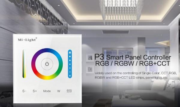 Synergy 21 LED Fernbedienung Smart Panel Controller(RGB/RGBW/RGB+CCT) *Milight/Miboxer*