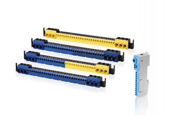 f-tronic N-N-Steckklemme, 3x25mm² schraubbar, 14x4mm² steckbar , SKN17N