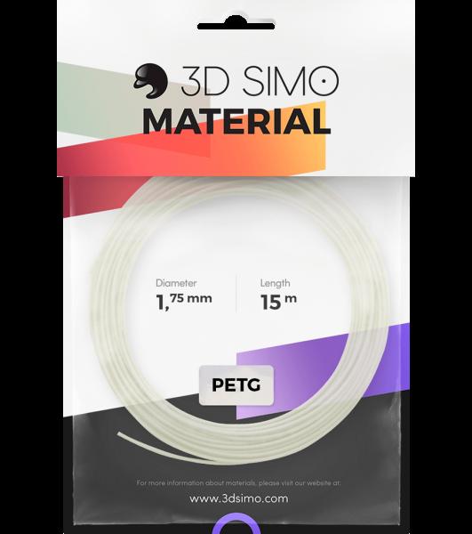 3Dsimo Filament PETG Transparent