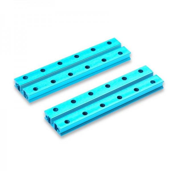 """Makeblock """"Slide Beam 0824-096 Blue (Pair)"""" / 2x Gleitschiene 0824-096 für MINT Roboter"""