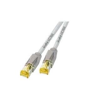 Patchkabel RJ45, CAT6A 900Mhz, 4m grau, S-STP(S/FTP), ND-UC900+TM31