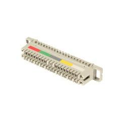 LSA+ TK LSA-Anschlussleiste 2/10 zu 10 DA, für Montagewanne