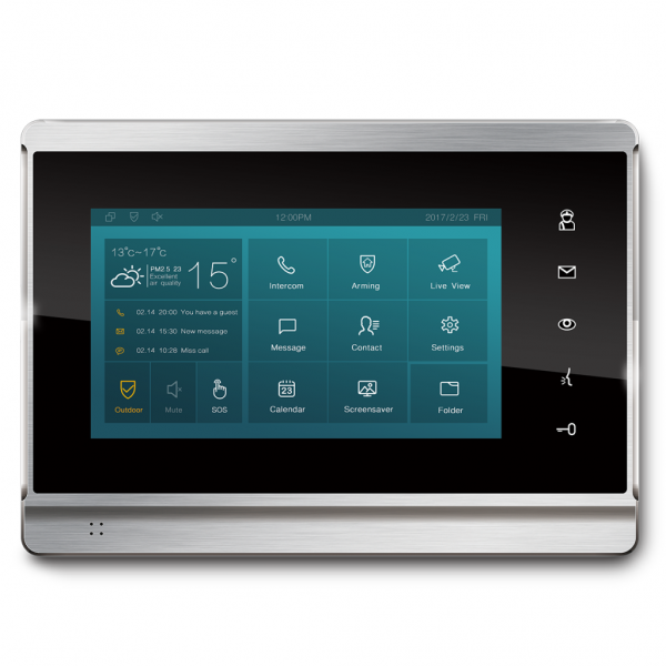 Akuvox TFE zbh. IT82W Indoor Touch Screen Android *POE*