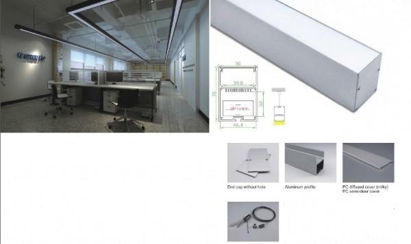 Synergy 21 LED U-Profil 200cm, ALU052