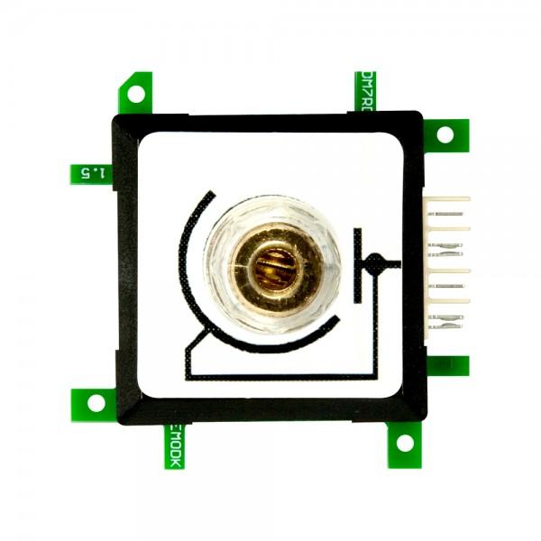 ALLNET Brick'R'knowledge Messadapter 4mm Closed End GND schwarz mit Kabelklemme