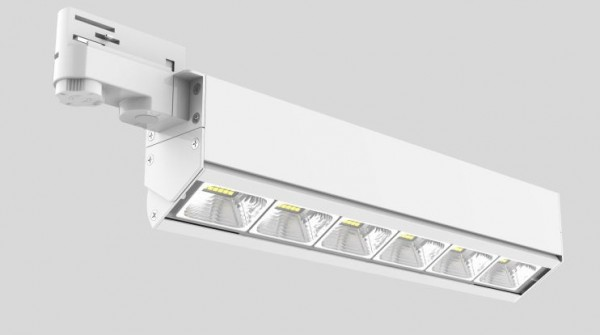 Synergy 21 LED Track-Serie für Stromschiene VLD-Serie 30W, 30°, ww, CRI>90 schwarz